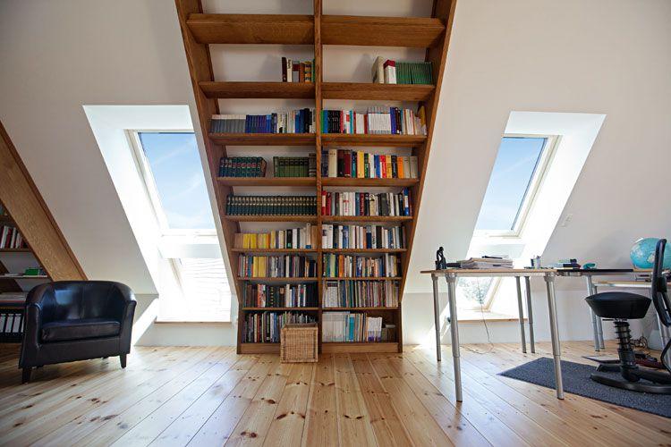 wohnideen in dachgeschoss | villaweb, Hause deko